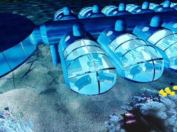 11 hotel subacvatic